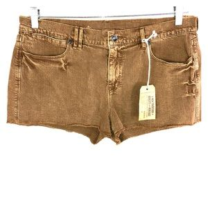 Madewell NWT Women's 32 Brown Jean Shorts